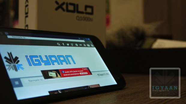 Xolo Q1000s Unboxing iGyaan 0