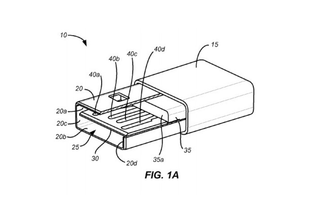 Reversible USB patent Design by Apple