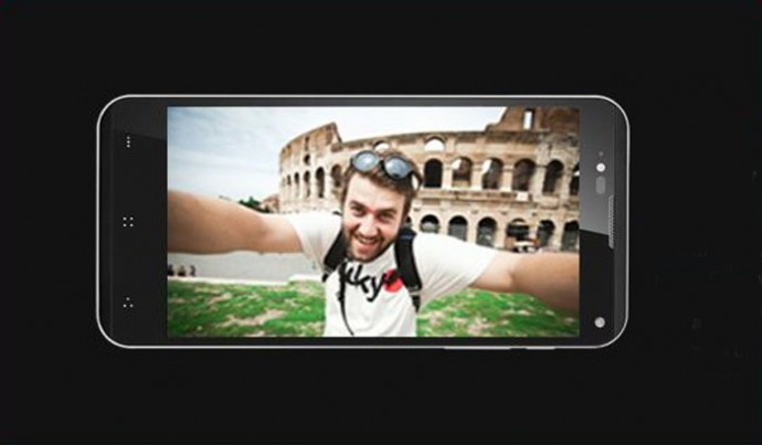 The Front LED flash may attract selfie enthusiasts to the device.