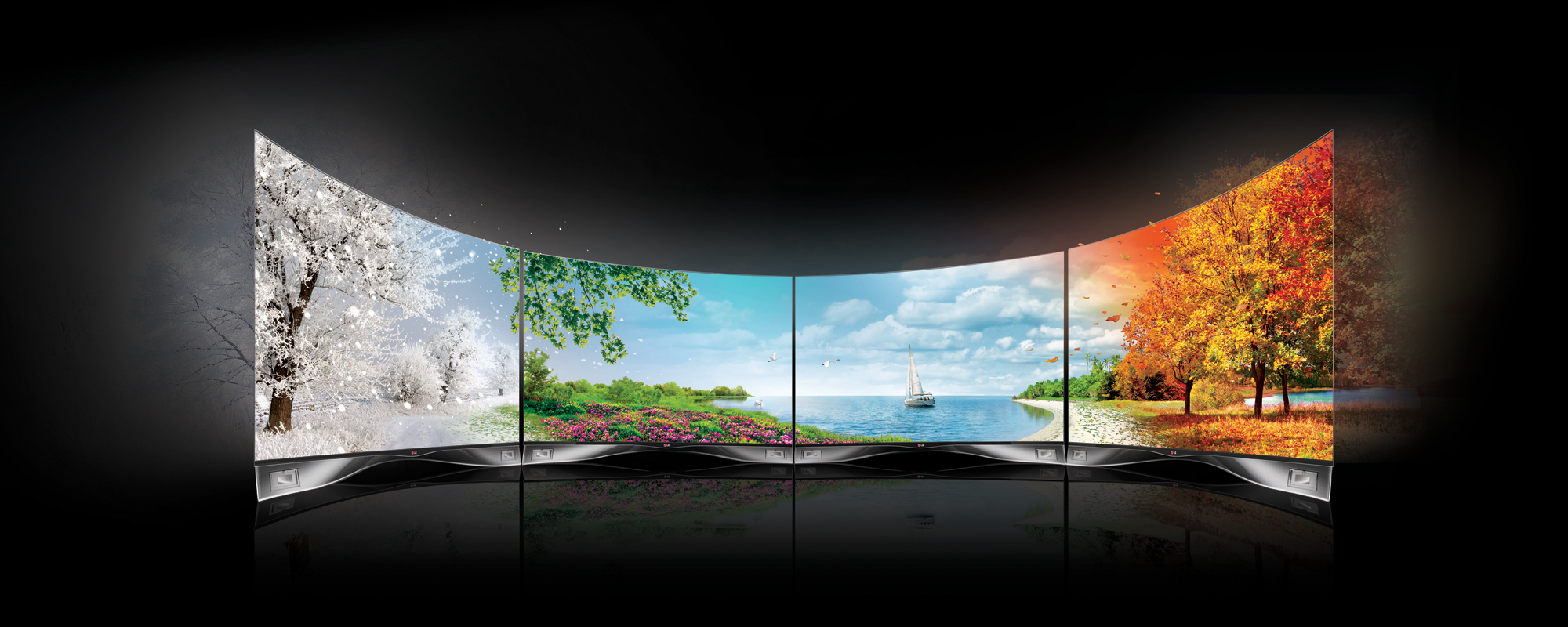 3d Wallpaper For Living Room Wall Lg To Roll Out World S First 4k Oled Display Igyaan Network
