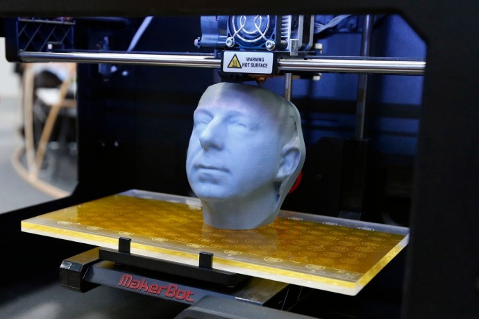3D Printers uses computer aided designs to create printable models.