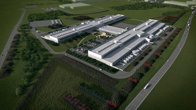 facebook fort worth data centre