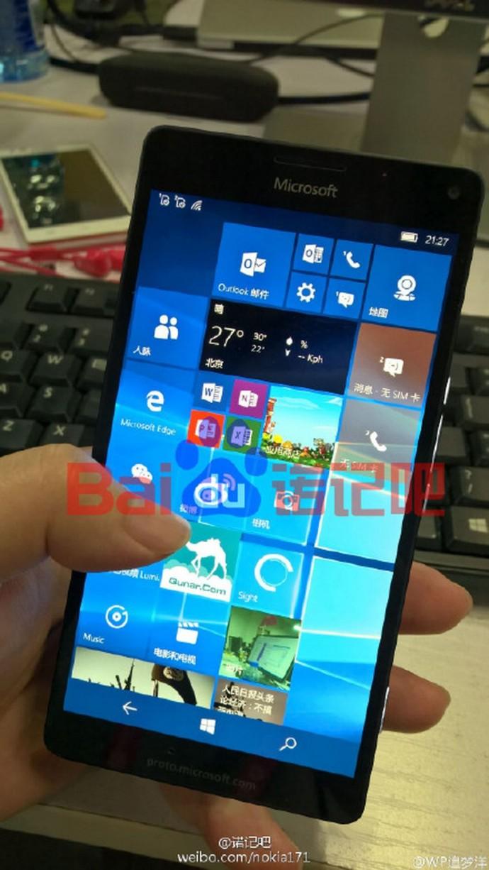 Lumia 950 XL Leak 2