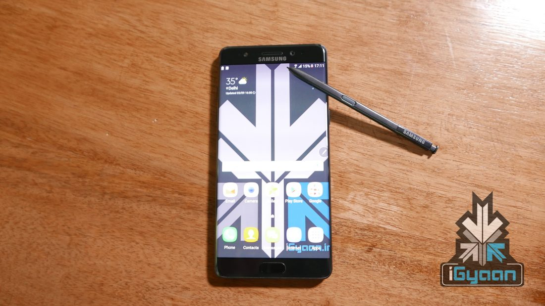 Samsung Galaxy Note Fan Edition Gets Taken Apart