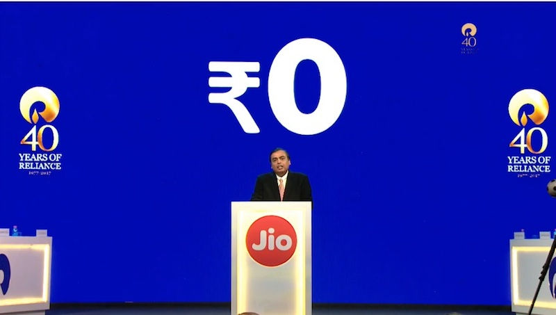 Reliance Jio plans to give out free Wi-fi in Government colleges
