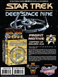 New DEEP SPACE NINEThemed Beer to Debut at STLV
