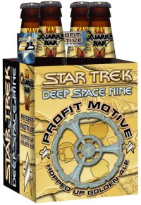 Shmaltz Profit Motive Beer Launched At STLV To Celebrate Star Trek Deep Space Nine
