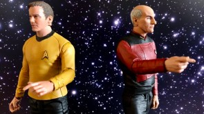 Review McFarlane Toys Debuts Star Trek Line With Impressive Kirk And Picard Figures