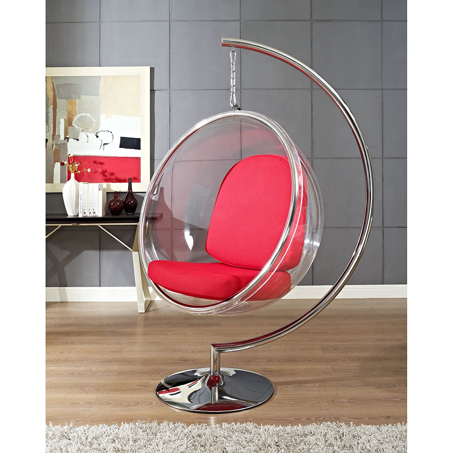 Ihausexpress Bubble Chair With Metal Stand
