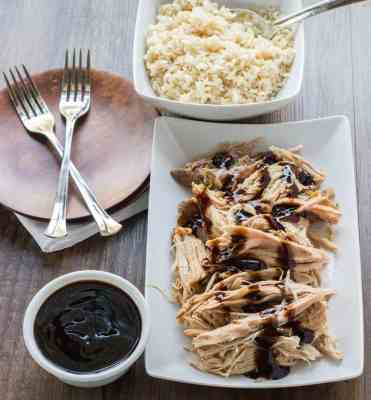 Slow Cooker Sweet Balsamic Pork