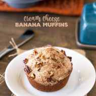 Cream Cheese Banana Muffin Recipe