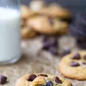 Chewy Pumpkin Chocolate Chip Oreo Cookies