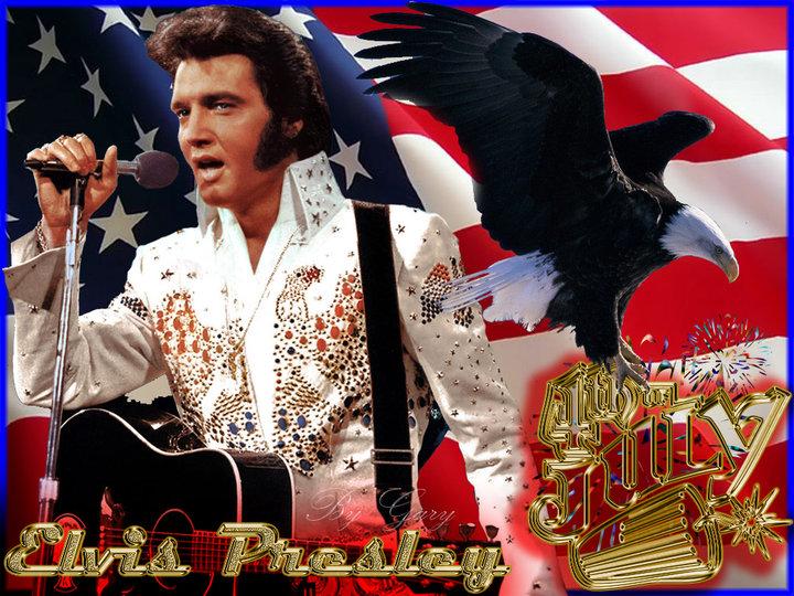 Love Animation Wallpaper Elvis Presley 4th Of July Elvis Is America Www