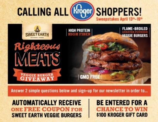 sweet earth veggie burgers