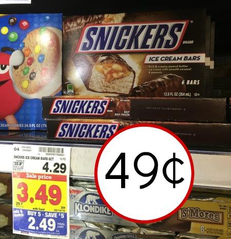 snickers kroger