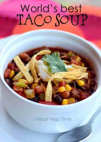 Taco soup! - I Heart Nap Time