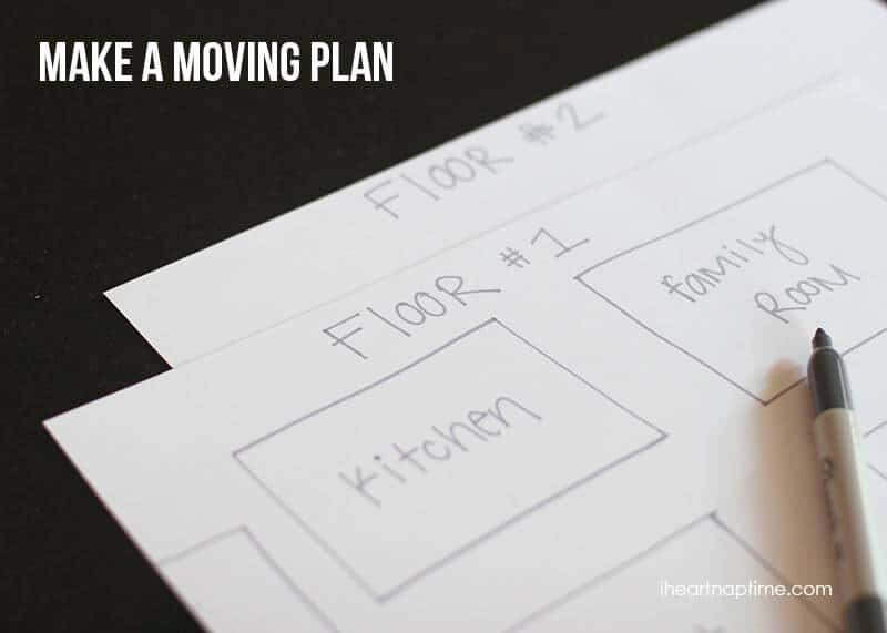 Moving Tips  Tricks To Stay Organized - I Heart Nap Time