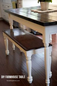 PDF DIY How To Build A Farmhouse Kitchen Table Download