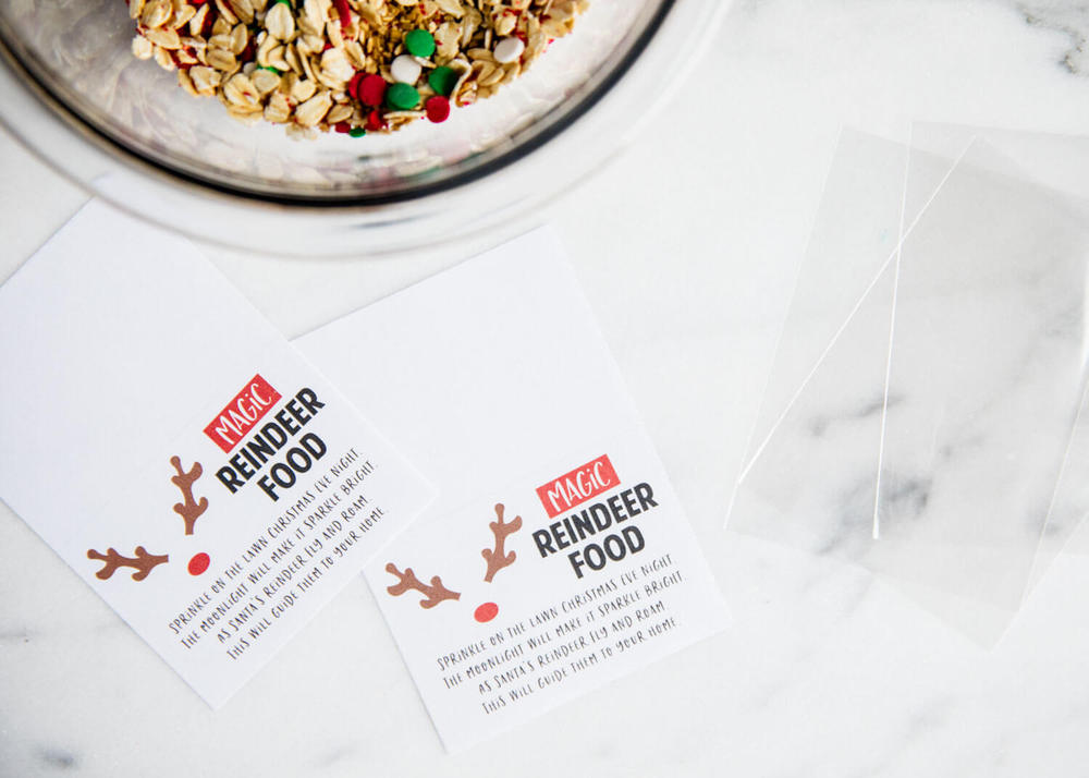 Magic Reindeer Food (+ FREE Poem Printable!) - I Heart Naptime