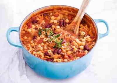 One-Pot Pasta e Fagioli (Olive Garden copycat!) - I Heart Naptime