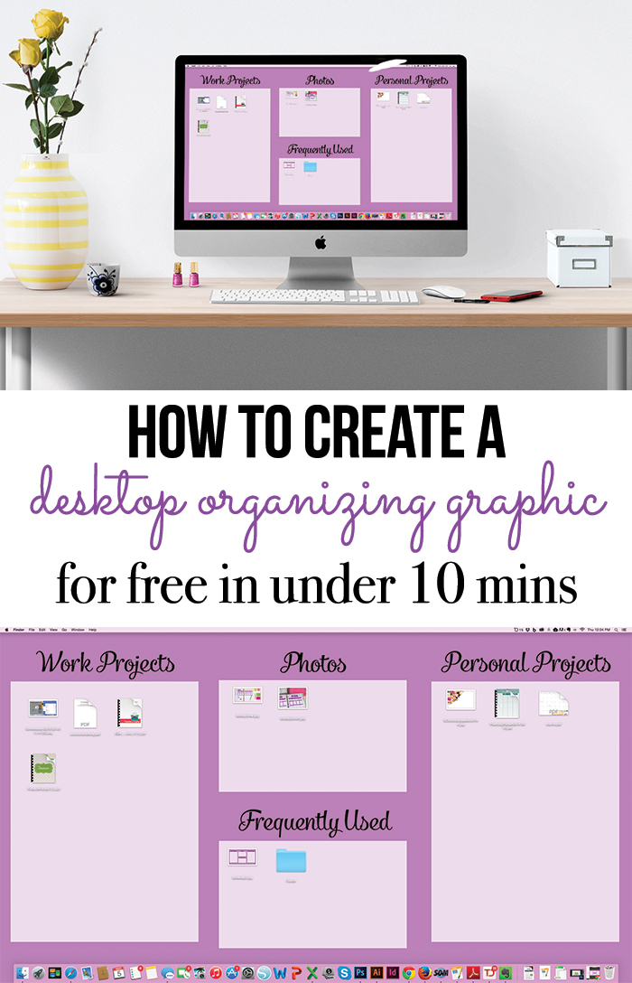 Organize Your Computer Desktop - I Heart Planners - follow up email