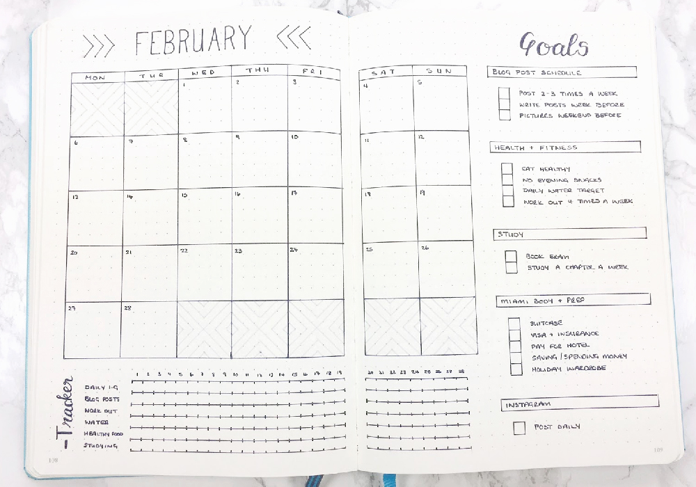 Bullet Journal Templates - I Heart Planners