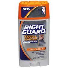 Right Guard Deodorant Coupon
