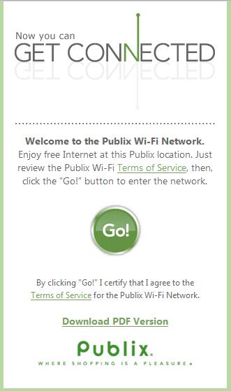 publix wifi