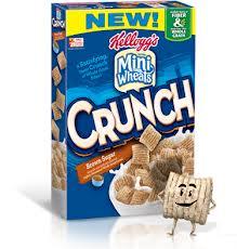 kellogg's mini wheat crunch