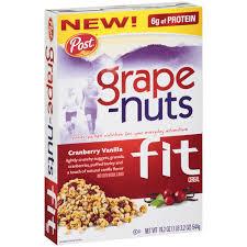 grape nuts fit
