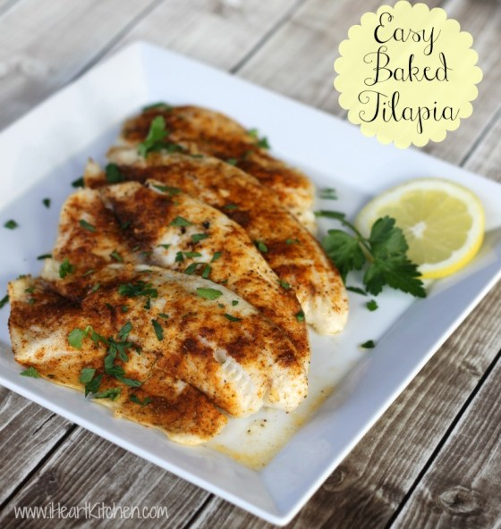 Easy baked tilapia recipe for Tilapia fish recipes