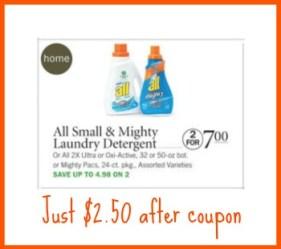 all detergent publix