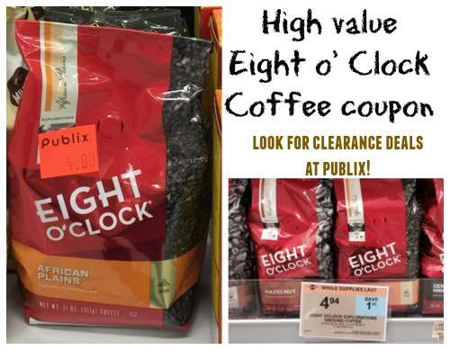 8 o'clock coffee coupon