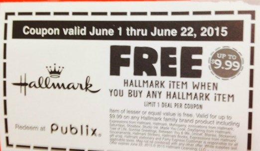 Hallmark discount coupons