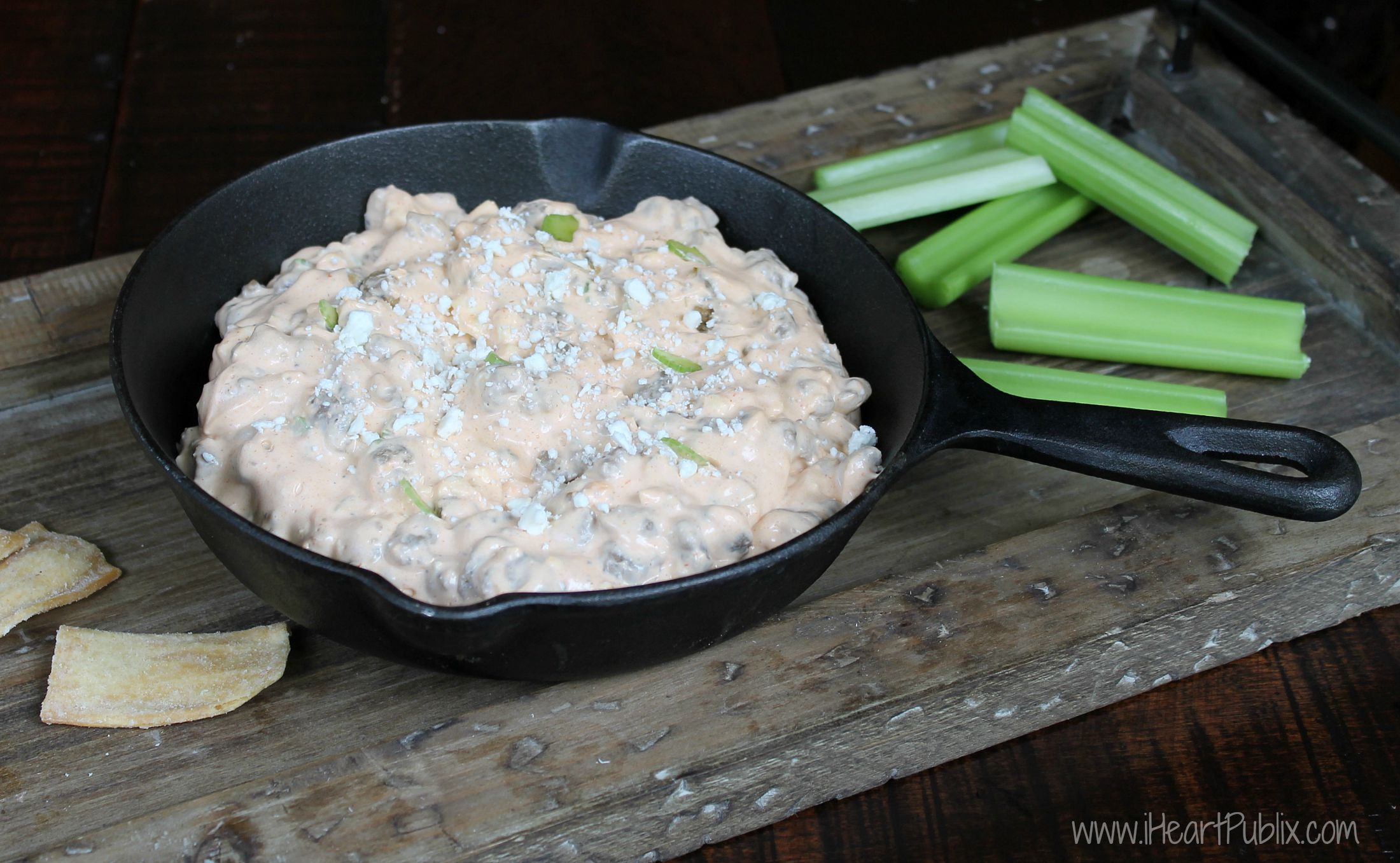 BUFFALO SAUSAGE CHEESE DIP
