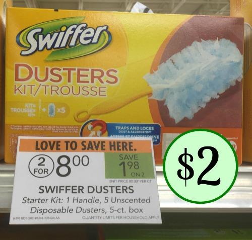Swiffer kit coupons