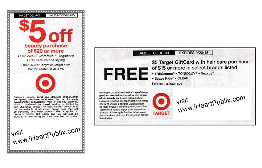 target coupons 9-13