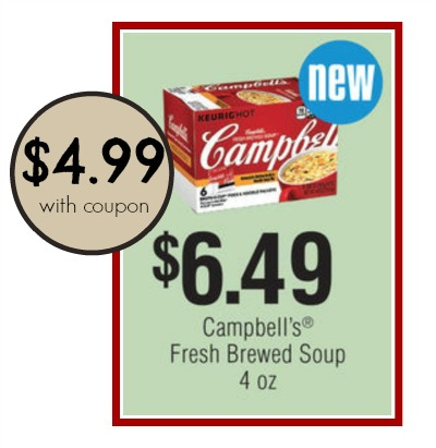campbell's fresh brewed soup publix