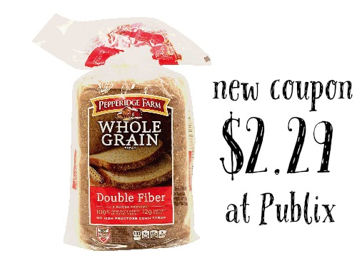 pepperidge farm coupon publix