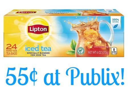 lipton tea publix BOGO