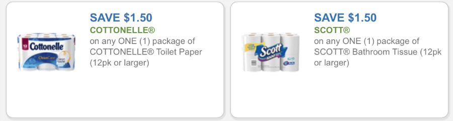Printable toilet paper coupons 2018