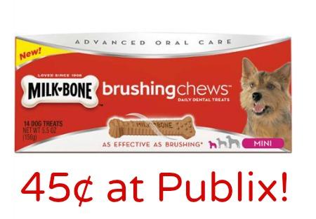 Milk Bone Dog Treats At Publix