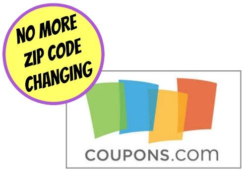 coupons.com zip code