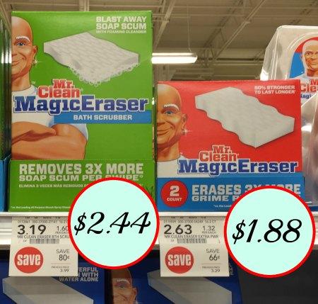 Mr Clean Magic Erasers Coupons