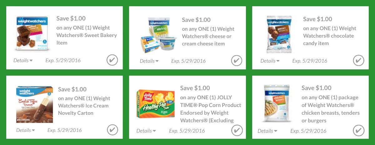 Weight watchers coupons printable