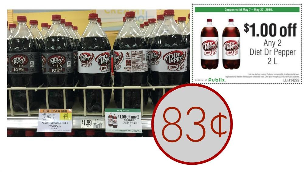 diet dr pepper publix