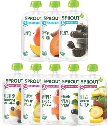 Sprout pouches