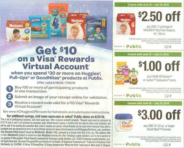 publix coupon momsaver