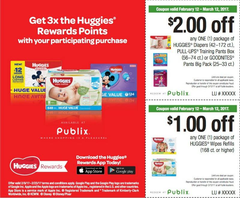 huggies coupons, I Heart Publix