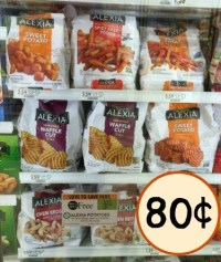 Super Deal On Alexia Potatoes & Onion Rings With Sale & Coupon